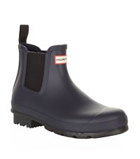 Hunter Original Chelsea Boot Wellies Male Navy