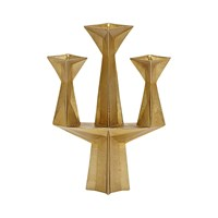 Tom Dixon Gem Candelabra Brass Gold