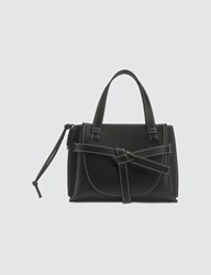 Loewe Gate Top Handle Mini Bag Black