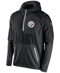 Nike Men's Pittsburgh Steelers Vapor Speed Fly Rush Hooded Jacket Black