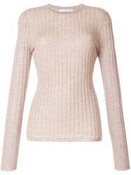 Gabriela Hearst Collins Long Sleeve Knit Top 60
