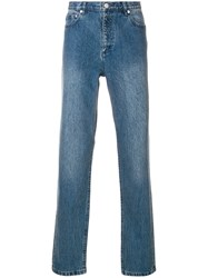A.P.C. Washed Out Jeans Blue