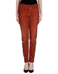 Drykorn Denim Pants Brick Red