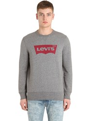 Levi's Logo Crewneck Cotton Sweatshirt