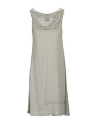Alpha Short Dresses Light Grey