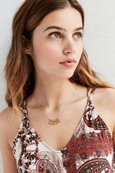 Urban Outfitters Sunrise Delicate Necklace Gold