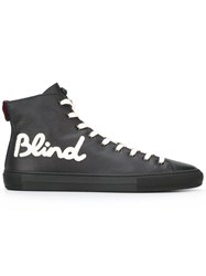 Gucci Blind For Love Hi Top Sneakers Black