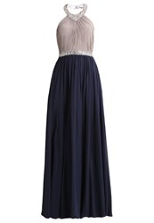 Unique Occasion Wear Silver Cloud Night Blue Dark Blue