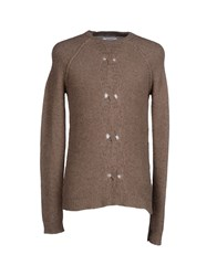 Gentryportofino Knitwear Jumpers Men Khaki