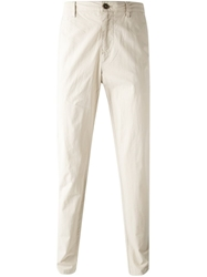 Burberry Brit Chino Trousers Nude And Neutrals