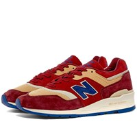 New Balance End. X M997end Made In Usa 'Persian Rug' Red