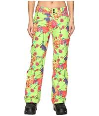 Obermeyer Malta Pants Flower Burst Women's Casual Pants White