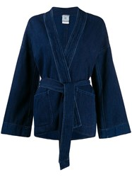 Forte Forte Boxy Fit Open Front Jacket 60