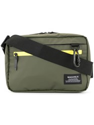 Makavelic Utility Shoulder Bag Green