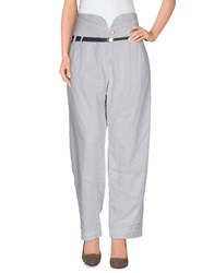 Sessun Trousers Casual Trousers Women Light Grey