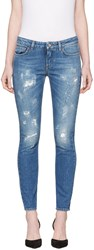 Dolce And Gabbana Blue Pretty Fit Jeans