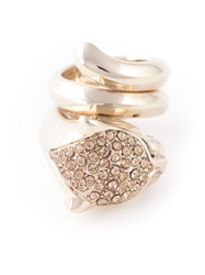 Roberto Cavalli Round Shape Ring Metallic
