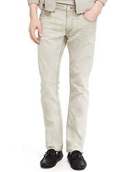 Ralph Lauren Black Label Jeans Slim Fit In Aprilia Stone