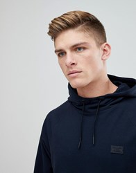 Abercrombie And Fitch Black Label Sport Hoodie In Navy