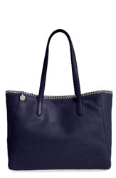Stella Mccartney 'Falabella Shaggy Deer' Faux Leather Tote Blue Navy