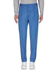 Emiliano Rinaldi Casual Pants Blue