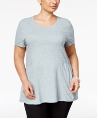 Styleandco. Style Co. Plus Size Peplum Top Only At Macy's Green Nectar