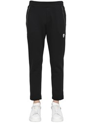 Alexander Mcqueen Zip Details Cotton Sweatpants