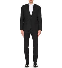 Reiss Armstrong Slim Fit Wool Jacket Charcoal