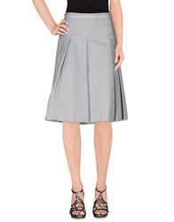 'S Max Mara Skirts Knee Length Skirts Women Grey