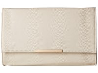 Jessica Mcclintock Nora Straw Clutch Bone Clutch Handbags