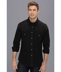 Rock And Roll Cowboy L S Snap Black 5 Long Sleeve Button Up