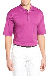 Men's Bobby Jones Solid Pima Cotton Jersey Polo Italian Plum