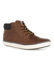 Topman Brown Tan Parker Cuff Boots