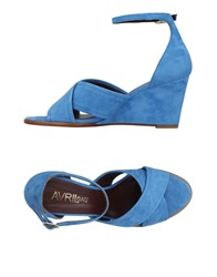 Avril Gau Sandals Azure