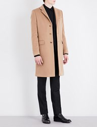 Givenchy Wool And Cashmere Blend Coat Beige