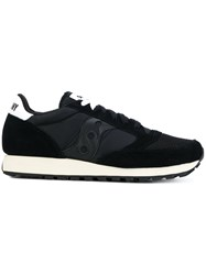 Saucony Dxn Sneakers Leather Polyamide Rubber 7.5 Black