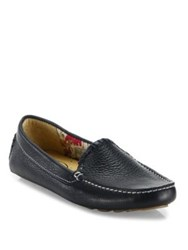 Jack Rogers Taylor Leather Loafers Cognac Midnight