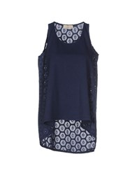 Just For You Topwear Tops Women Dark Blue