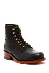 Frye Engineer Artisanal Lace Boot Black