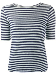 Ymc Striped Fitted T Shirt 60