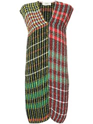Ports 1961 Checked Tweed Dress Multicolour