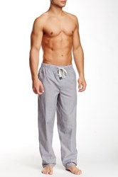 Perry Ellis Chambray Lounge Pant Gray