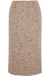 Acne Studios Fenel Trash Wool Blend Tweed Midi Skirt
