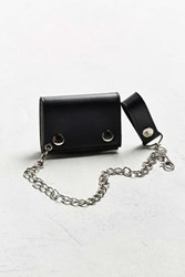 Urban Outfitters Uo Chain Wallet Black