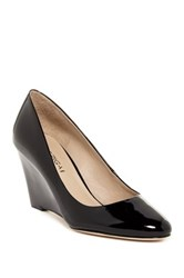 Via Spiga Pamina Patent Wedge Pump Wide Width Available Black