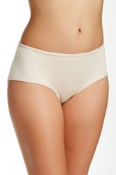 Joan Vass Molded Padded Brief Plus Size Available Beige