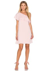 Amanda Uprichard Zoe Dress Pink