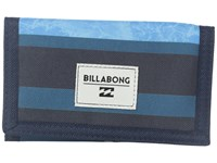 Billabong Atom Wallet Blue Wallet Handbags
