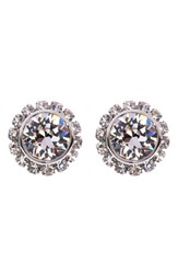 Women's Ted Baker London 'Crystal Daisy' Stud Earrings Clear