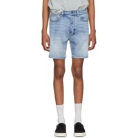 Ksubi Blue Chopper Ultimatum Shorts